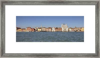 Zattere - Venice Framed Print by Joana Kruse