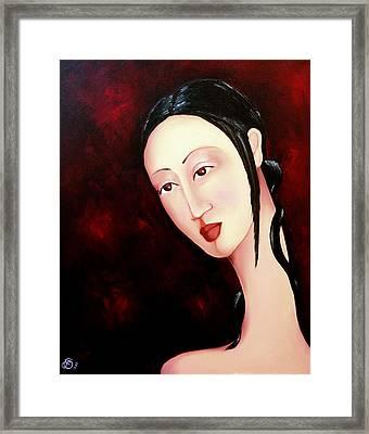 Zen 2010 Framed Print by Simona  Mereu