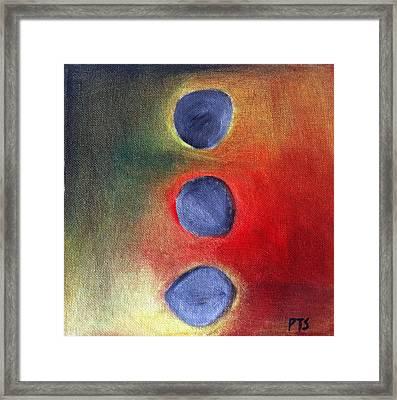 Zen Balance Framed Print by Prachi  Shah