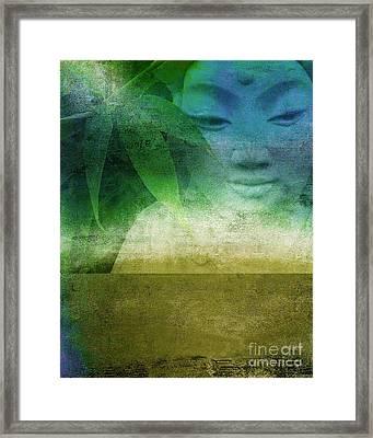 Zen Garaden Framed Print by Ricki Mountain