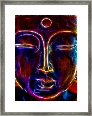 Framed Print featuring the photograph Zen Glow by Joetta West