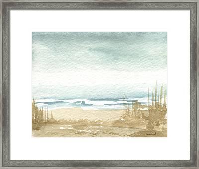 Zen Landscape 1 Framed Print by Sean Seal