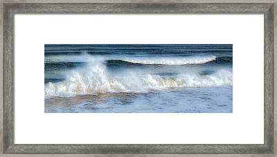 Zen Wave Framed Print