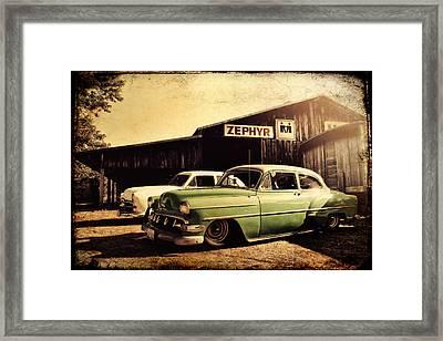 Zephyr Framed Print by Joel Witmeyer