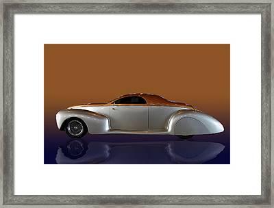Zephyr Stretch Framed Print by Bill Dutting