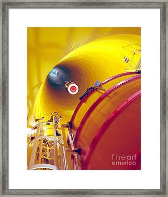 Zero Gravity Facility Framed Print by Nasa