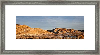Framed Print featuring the photograph Ziebriski Point by Hugh Smith