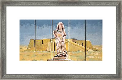 Ziggurat Framed Print by Unknown - Local National