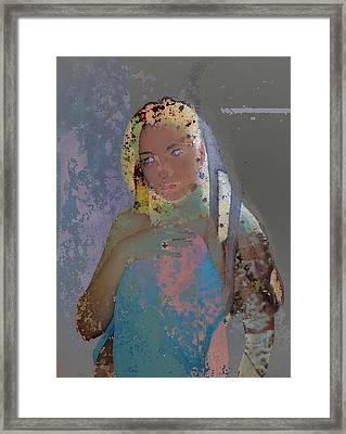 Zinc Framed Print by Adam Kissel