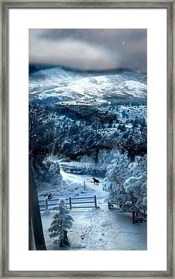 Ziriel's Window Framed Print by Ric Soulen