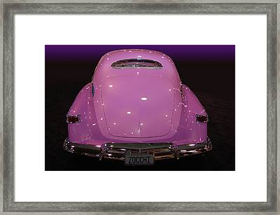 Zocchi Framed Print by Bill Dutting