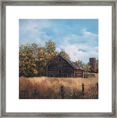 Zoe's Barn Framed Print