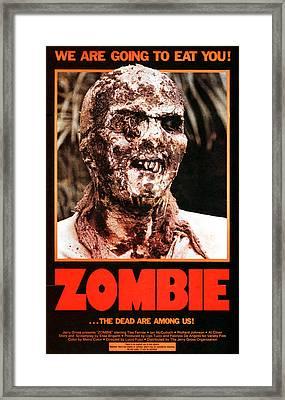 Zombie, Aka Zombi 2, Poster, 1980 Framed Print by Everett