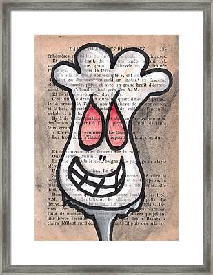 Zombie Cauliflower Framed Print by Jera Sky