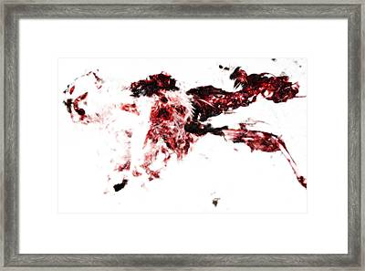 Zombie Pussy Framed Print by Manik Designs