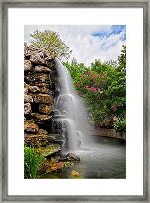 Zoo Waterfall Framed Print