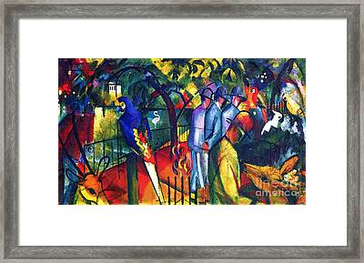 Zoological Garden Framed Print by Pg Reproductions