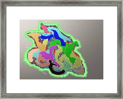 Zoothings Framed Print