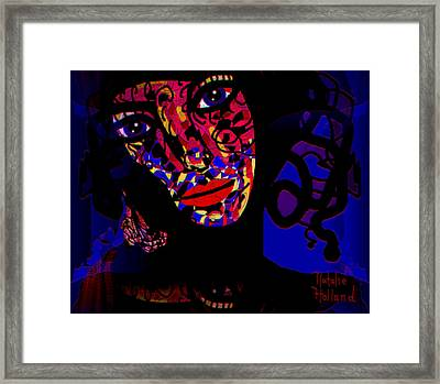 Zora Framed Print by Natalie Holland