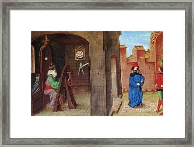 Zoroaster (c628-c551 B.c.) Framed Print by Granger
