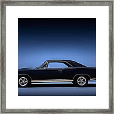 67 Gto Framed Print by Douglas Pittman