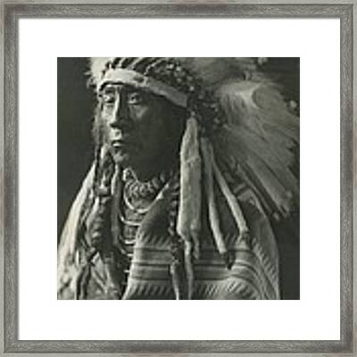 Chief Eagle Calf Framed Print by Retro Images Archive