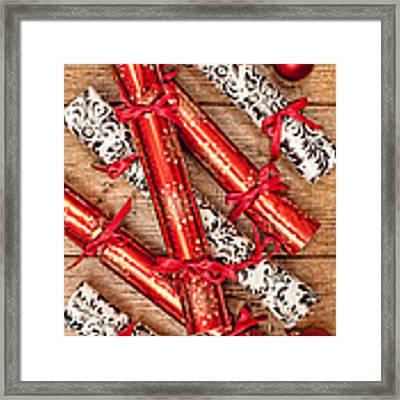 Christmas Crackers Framed Print