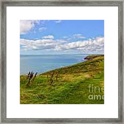 Edge Of The World Framed Print by Jeremy Hayden