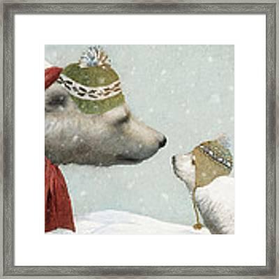 First Winter Framed Print