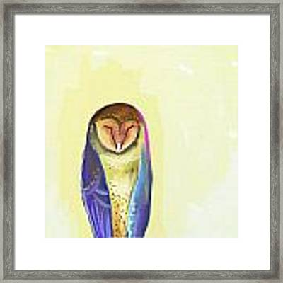 Quiet Owl Framed Print
