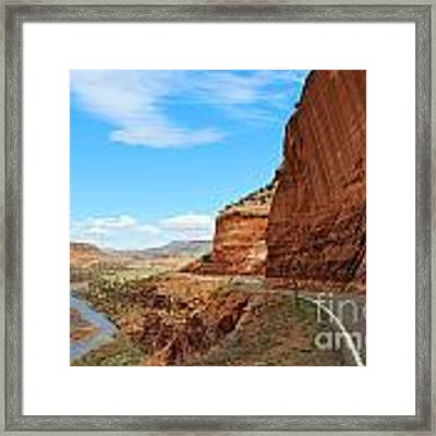 Unaweep Tabeguache Scenic Byway Framed Print by Kate Avery