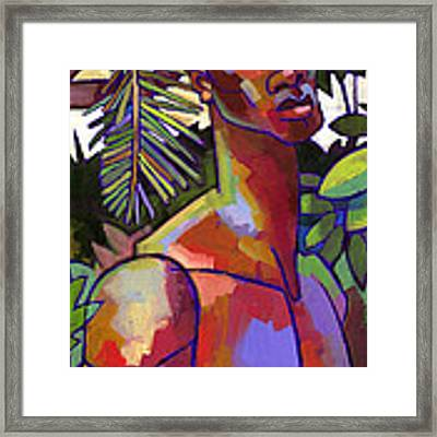 African Forest Framed Print