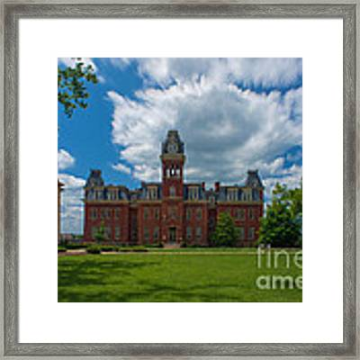 Woodburn Hall Summer Paintography Framed Print by Dan Friend