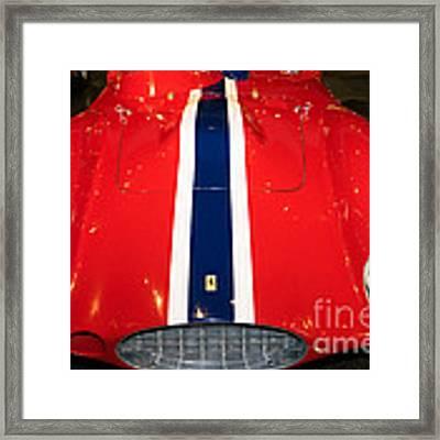 1955 Ferrari 750 Monza Scaglietti Spider Dsc2663 Framed Print by Wingsdomain Art and Photography