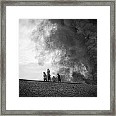 Just Strolling By  Framed Print by Ben Shields