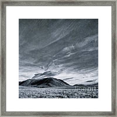Land Shapes 19 Framed Print