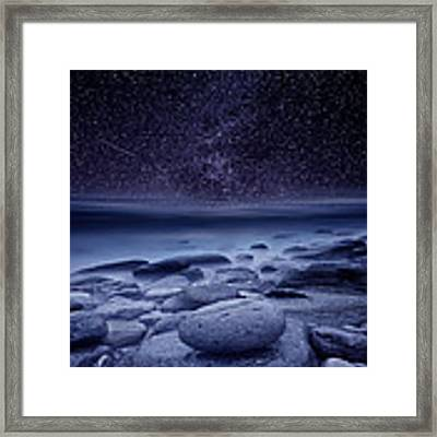 The Cosmos Framed Print by Jorge Maia