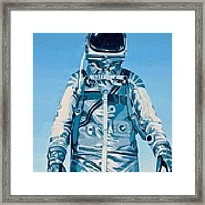 Under The Flight Path Framed Print