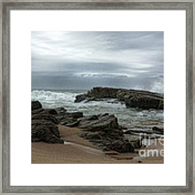 Slipping Away Framed Print by Glenda Wright