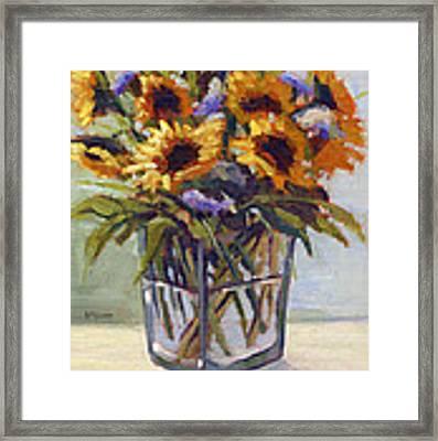 Summer Bouquet 4 Framed Print by Konnie Kim