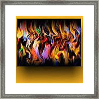 Color Expression Framed Print by Mihaela Stancu