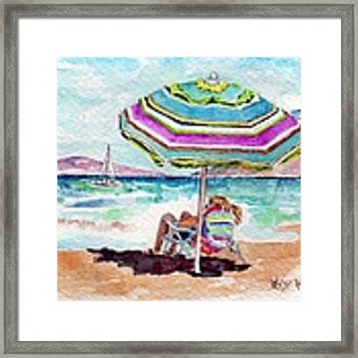 A Sweet Day In Maui Framed Print by Wendy Ray