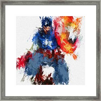 American Hero Framed Print by Miranda Sether