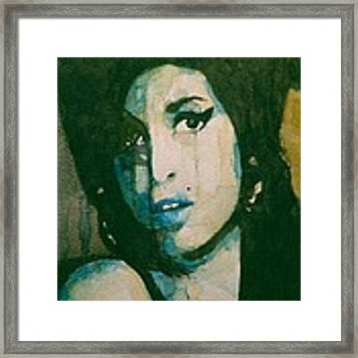 Amy Framed Print