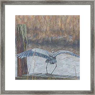 And A One And A Two Framed Print by Beth Sawickie