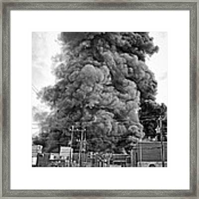 At Brown And Garden  Framed Print by Ben Shields