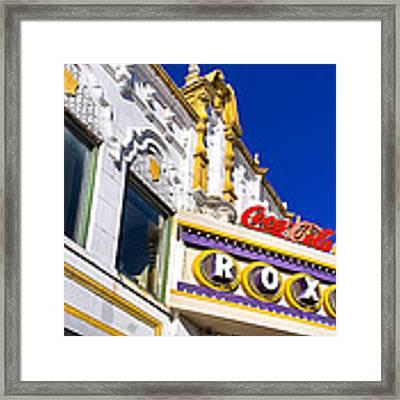 Atlanta Roxy Theatre Framed Print by Mark E Tisdale