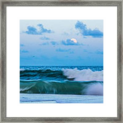 August Blue Moon Framed Print by Francis Trudeau