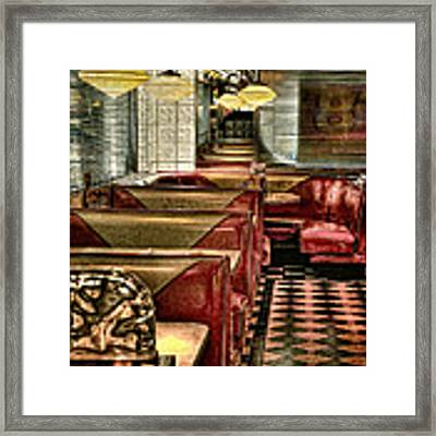 Back To The Fifties Framed Print by Lois Bryan