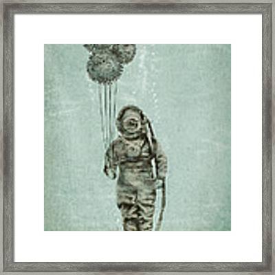 Balloon Fish Framed Print by Eric Fan